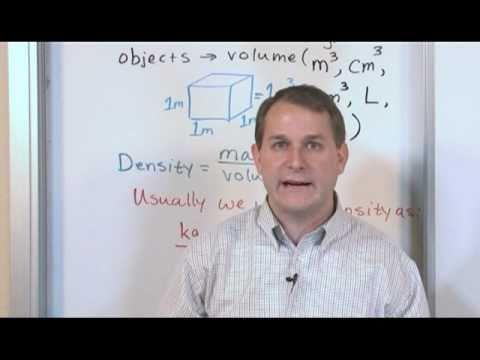 Density in Chemistry
