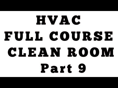 Clean Room part 9 ll HVAC Questions and Answers
