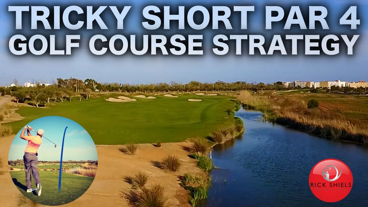 tricky short par 4 golf course strategy youtube. Black Bedroom Furniture Sets. Home Design Ideas