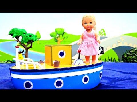 Мультики для детей. Штеффи - путешественница. Играем в куклы