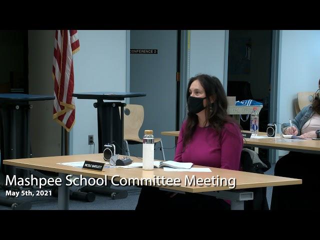 School Committee Meeting 5-5-21