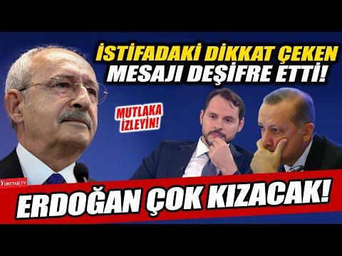 Kılıçdaroğlu Berat Albayrak istifasındaki dikkat çeken detayı deşifre etti! Erdo