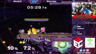 Dismantle - Axe (Pikachu) vs. Shroomed (Sheik) Melee Winner