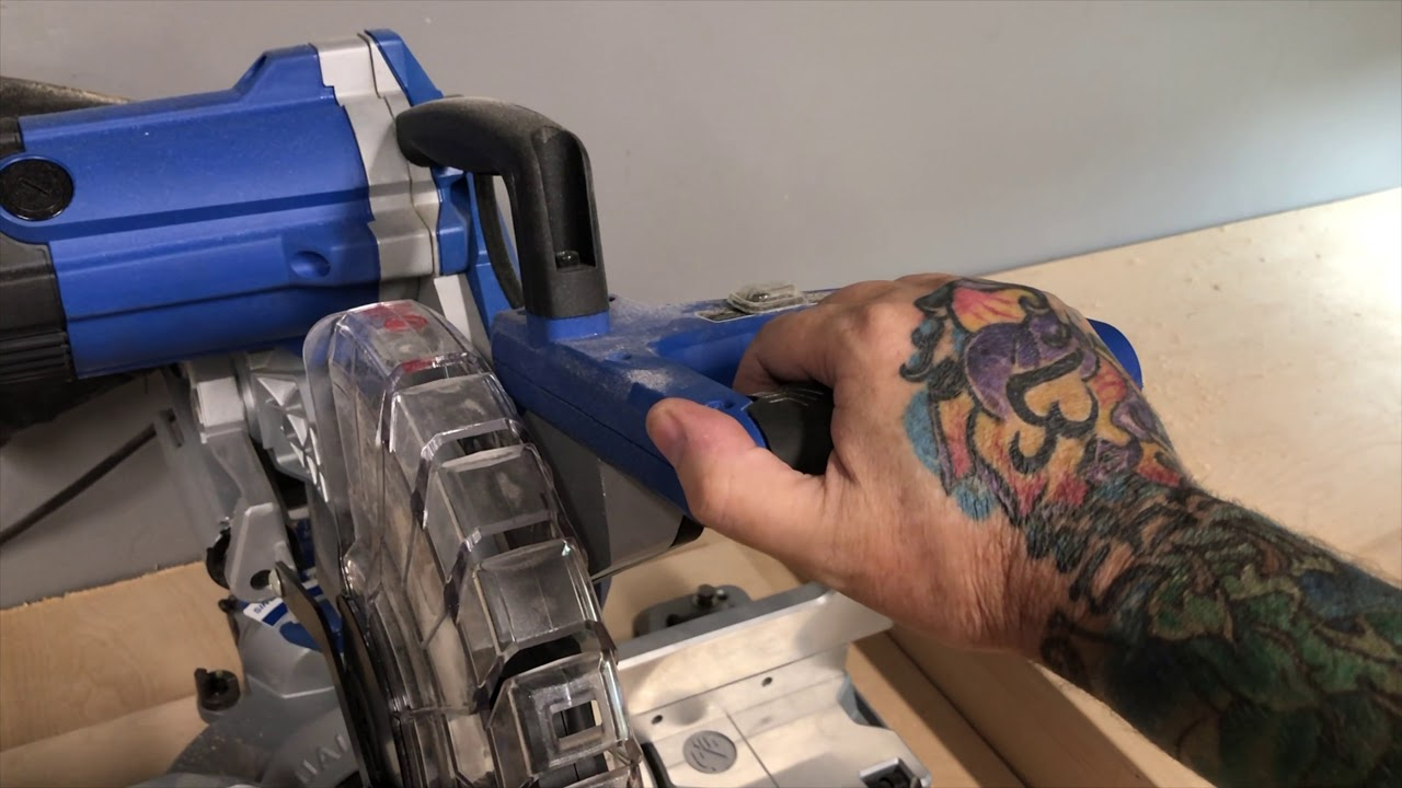 Kobalt 10 Sliding Miter Saw Part 2 Review And Comments