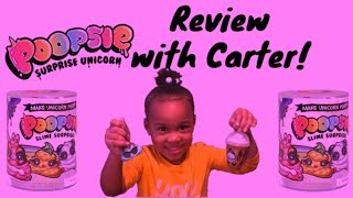 Poopsie Slime Review with Carter | Carter's Way