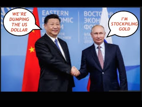 Russia & China Join Military Forces, Putin Stockpiling Gold, Banks Dropping US Dollar, Crop Shortage