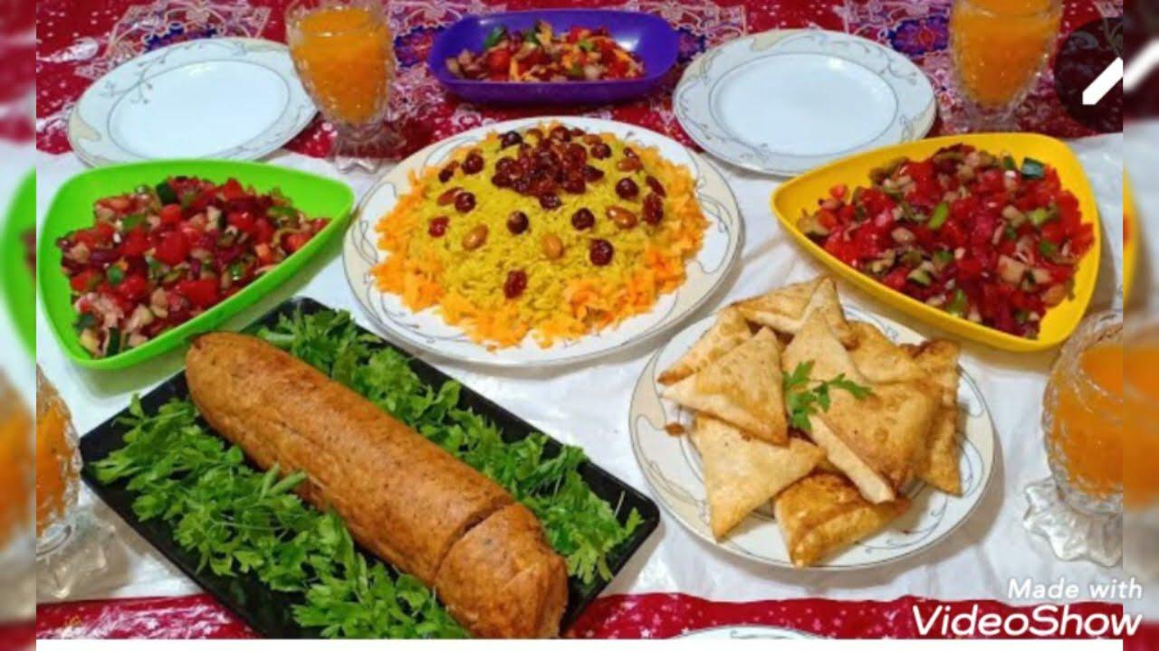 منيو اكلات شهر رمضان2021،على قد الإيد ٣٠وجبةفطار//مش هتحتاري في الفطار//سفرات تجنن