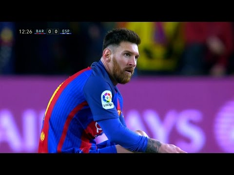 Lionel Messi vs Espanyol (Home) 16-17 HD 1080i - English Commentary