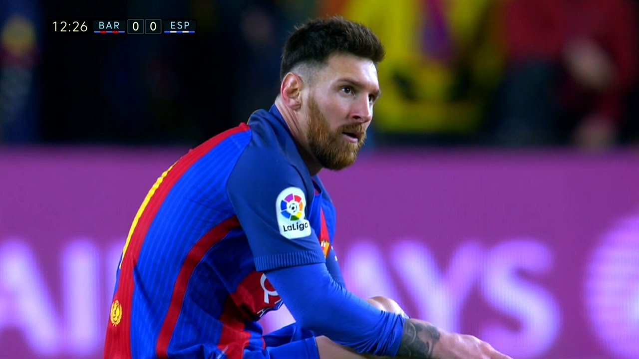 Download Lionel Messi vs Espanyol (Home) 16-17 HD 1080i - English Commentary