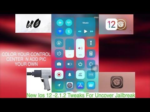 New Ios 12 -2 1 2 Tweaks For Uncover Jailbreak - YouTube