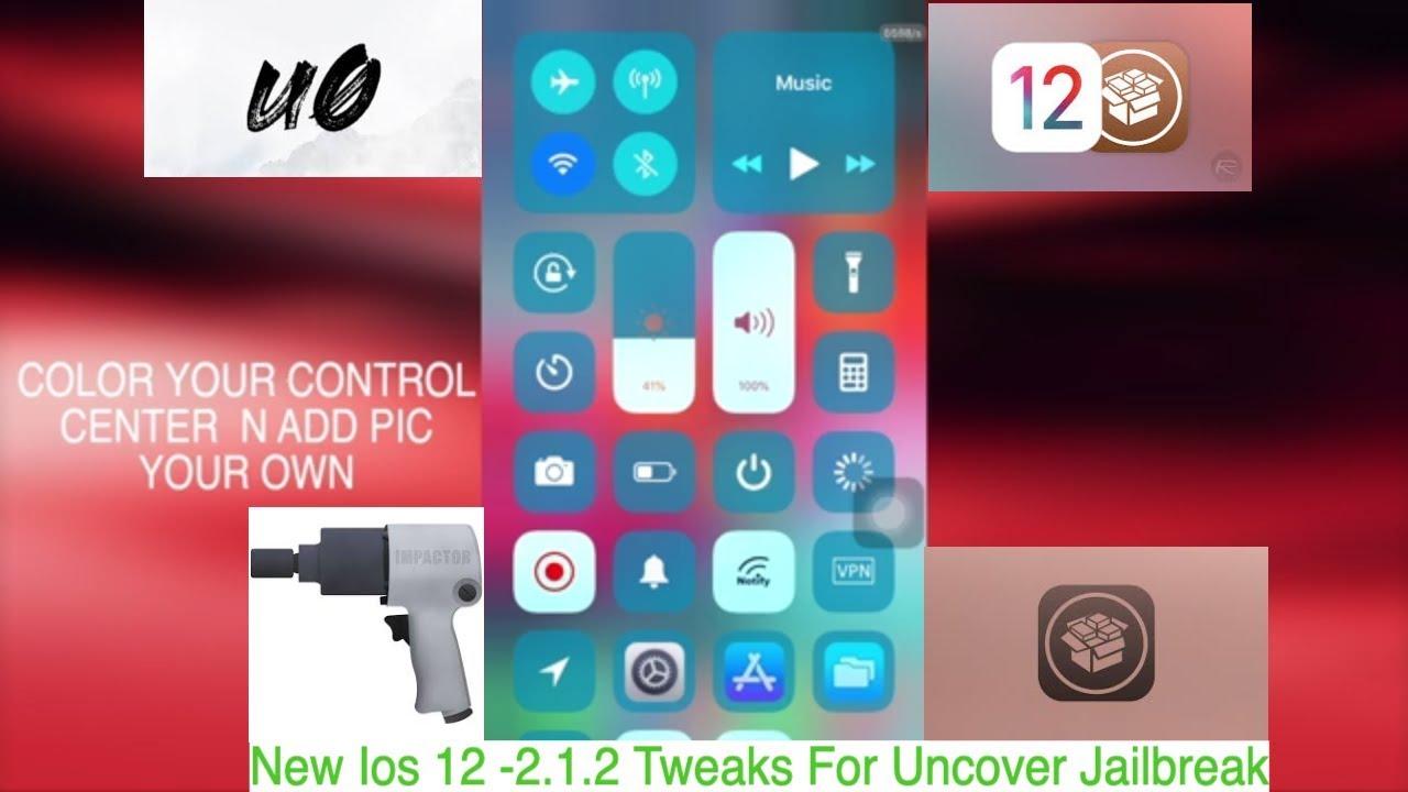 New Ios 12 -2 1 2 Tweaks For Uncover Jailbreak