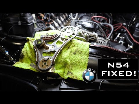 This Fixed My Car! BMW N54 Timing Chain DIY!