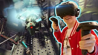 ACTION ADVENTURE ARCHERY GAME! | Apex Construct VR (HTC Vive Gameplay)