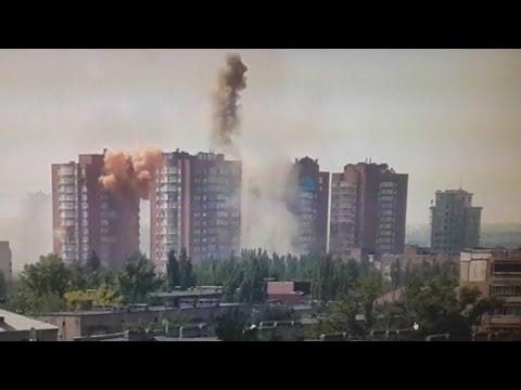 Авдеевка Кадры обстрела