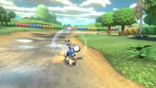 Wii U - Mario Kart 8 - (SNES) Donut Plains 3