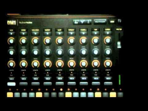 dm1 the drum machine ipad youtube. Black Bedroom Furniture Sets. Home Design Ideas