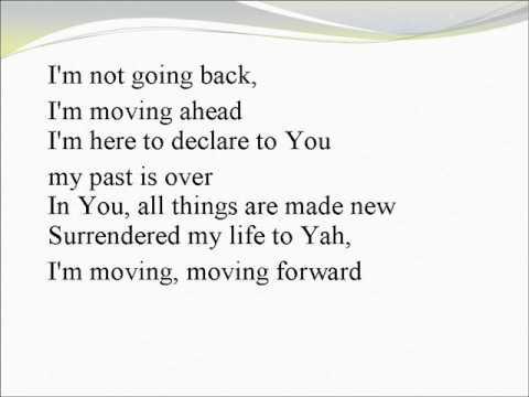 Moving Forward with lyrics - background track w. vocals
