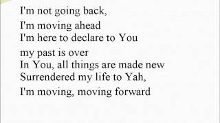 Moving Forward with lyrics - background track w. vocals