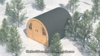 Shelter 2.0 Cnc: 3d Assembly Animation (720hd)