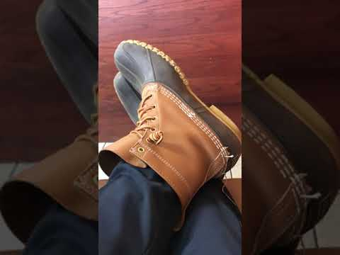 LL Bean Boots In The Morning At Breakfast!