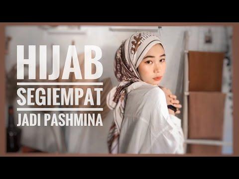 TUTORIAL HIJAB SEGIEMPAT JADI PASHMINA | Fitri Hasiani