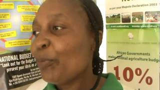 Mamalefetsane Phakoe a farmer from Lesotho commenting on the on the World Social Forum 2011.MPG
