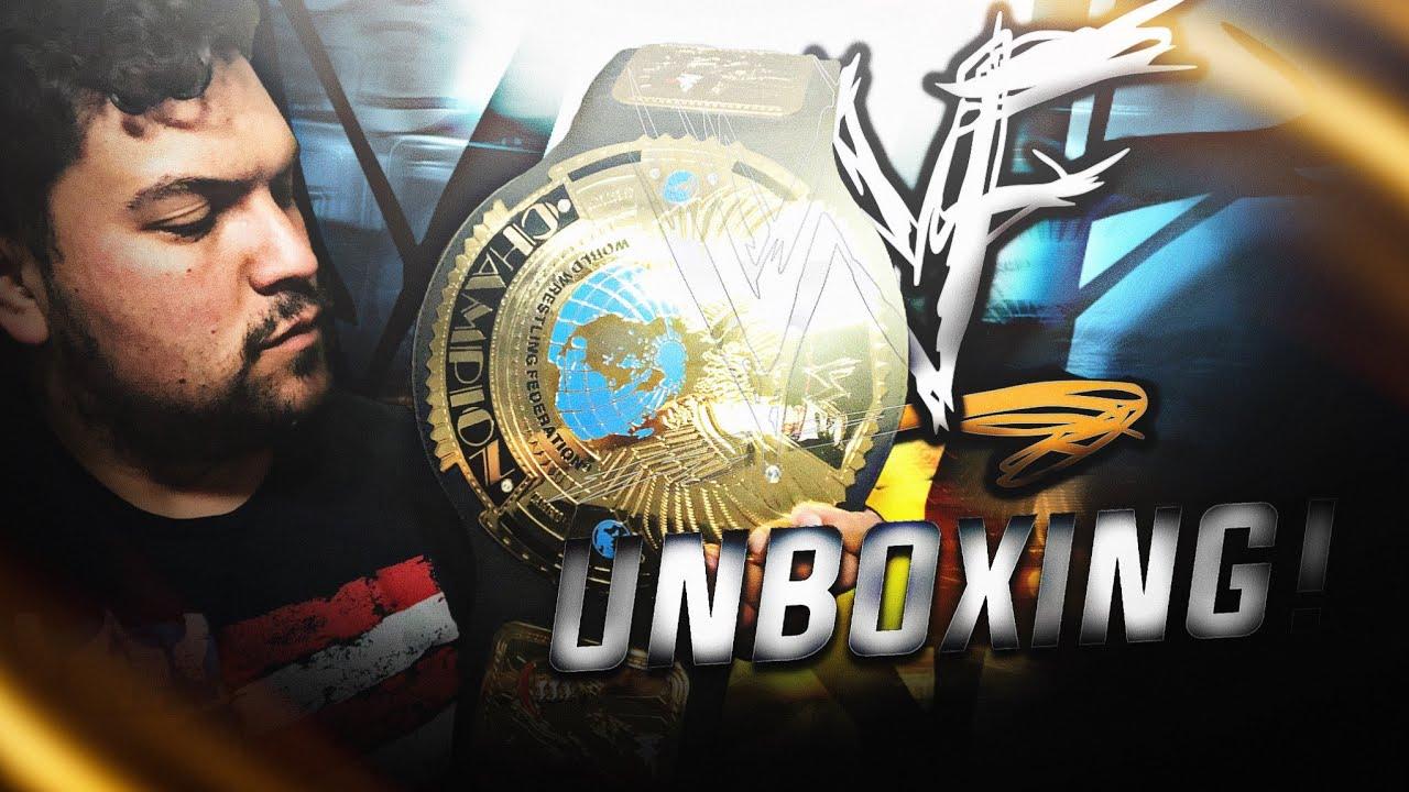 WWF Attitude Championship Replica V2 - WWF Shop 2001  - Unboxing y Review en Español