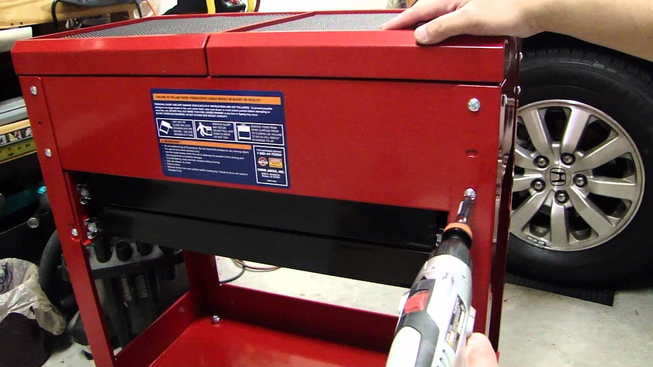 Tool Cart Tool Box For The Garage With Rolling Wheels