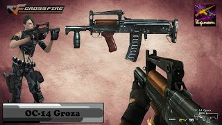 Cross Fire Vietnam (Đột Kích)||OC-14 Groza Gameplay