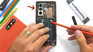 Vegan Phone Teardown! - Its not as boring as we thought...