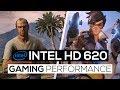 Intel HD 620 Gaming Peformance 2017!
