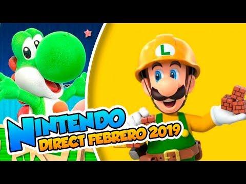 ¡ Mario Maker 2, Zelda remake y Astral Chain! - Nintendo Direct (Febrero 2019) DSimphony