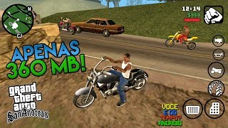 GTA San Andreas Completo Apenas 360 MB!