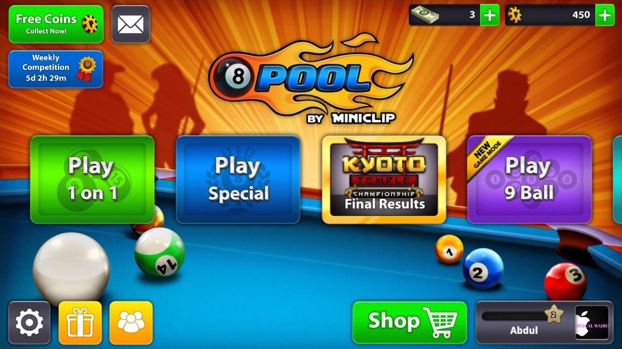 8 ball pool reward apk old version