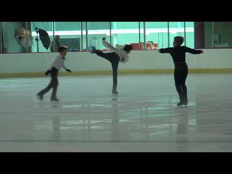Julian & Dominic Chan - Figure Skaters - Skate San Francisco USFS Competition