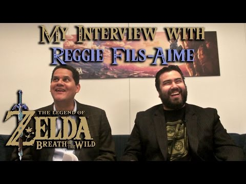 The Legend of Zelda: Breath of the Wild - Interview with Reggie Fils-Aime
