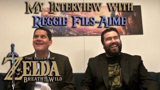 The Completionist Interviews Reggie Fils-Aime | Legend of Zelda: Breath of the Wild