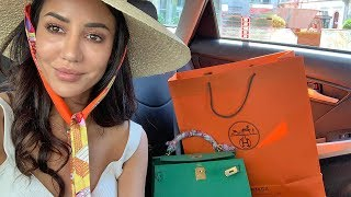 Went to Milan and Florence, ended in Hermes   Tamara Kalinic
