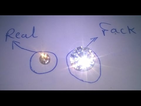 Diamond Test Real And Fake Youtube