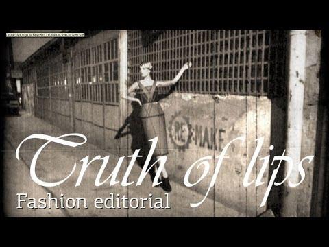Fashion editorial  - Truth of lips - Univerzitet Metropolitan
