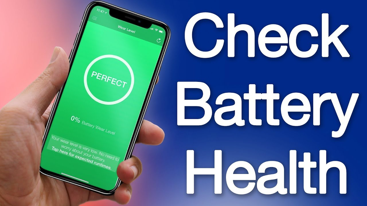 How to Check Battery Health on iPhone and iPad \u2013 Check Battery Wear