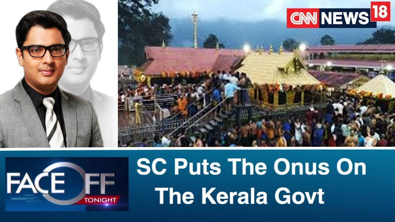 SC Puts The Onus On The Kerala Govt, To Hear Sabarimala Review Petitions In Open Court | Faceoff