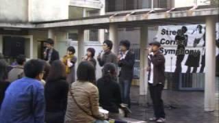 アカペラグループ「Jack Ⅲ Say」2006年11月5日早稲田祭野外ライヴより1...