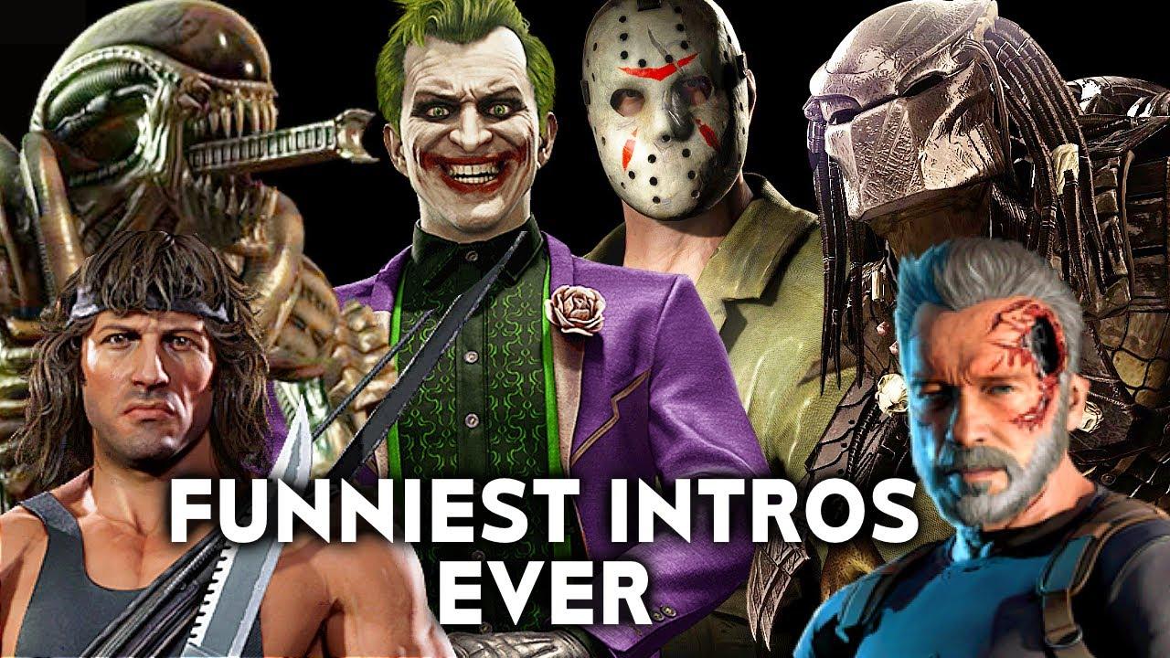 MORTAL KOMBAT Funniest Intros Ever - MK Funny Jokes