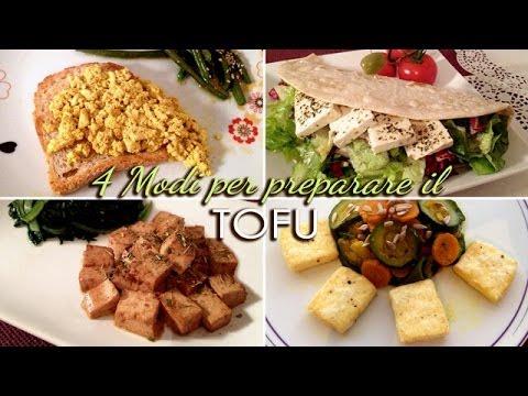 4 IDEE per cucinare il TOFU (strapazzato, in padella, marinato ...