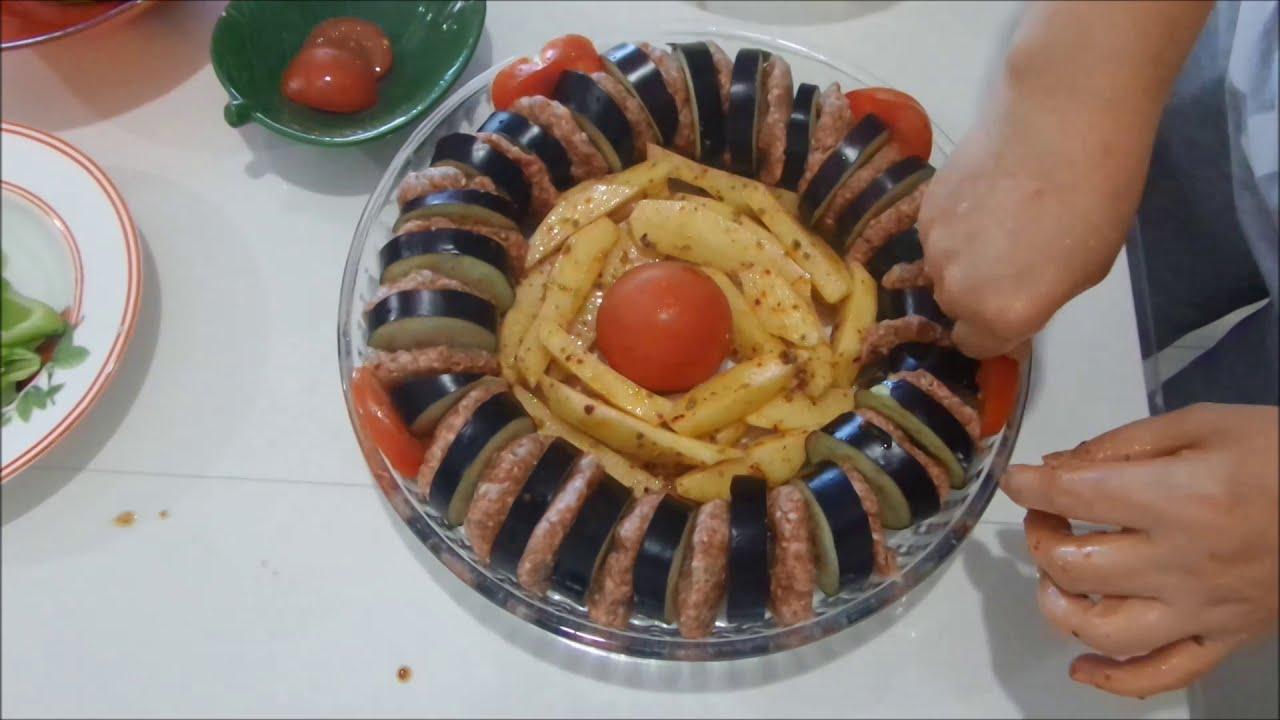 Yapımı Basit Tadı Efsane 👌/Köfteli Patlıcan Kebabı Nefis E Yemek Tarifleri