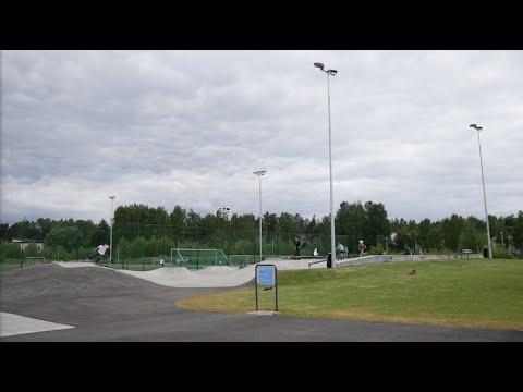 Vuosaari Skatepark (Helsinki, Finland)