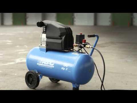 Compresor De Aire Abac L20 Montecarlo 50 L 2hp 8 Bar