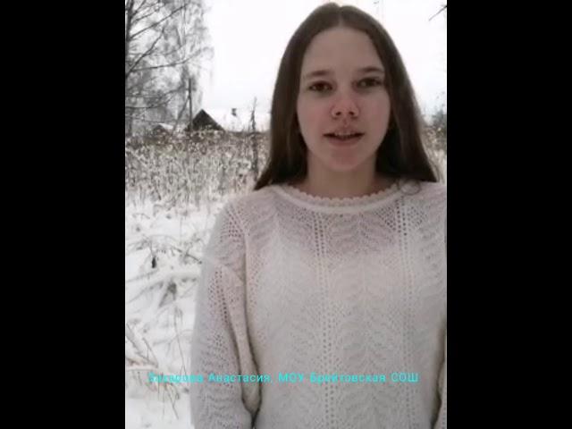 Изображение предпросмотра прочтения – АнастасияЗахарова читает произведение «Пороша (Еду. Тихо. Слышны звоны…)» С.А.Есенина