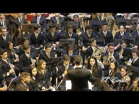 BANDA DE MUSICA LA PAZ MALAGA 2017 CONCIERTO SANTA CECILIA 4K